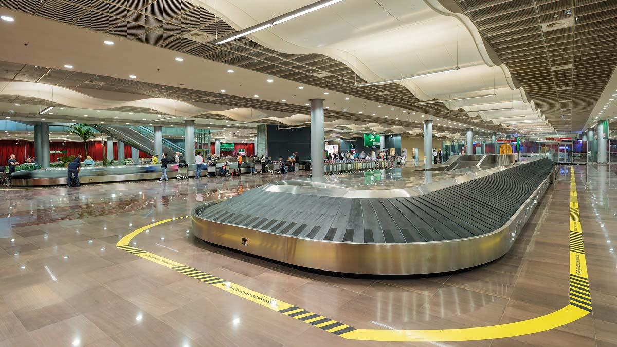 Arrival - Luggage Claim